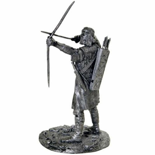 metal sculpture Tin toy soldier 54mm Assyrian archer 7th century BC