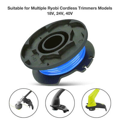 3X String Trimmer Line For Ryobi Replacement Spool AC14RL3A 18//24//40V Weed Eater