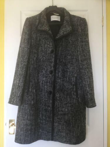 Smart Taglia Bianco Windsmoor Nero Ladies Lovely 16 Coat dTq4dxI