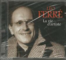 LEO FERRE' - La vie d'artiste - CD 2003 SIGILLATO