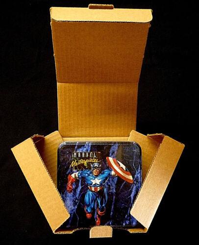Marvel Masterpieces Series 1 Trading Card Tin Set Fleer//Skybox 1993 New Sealed