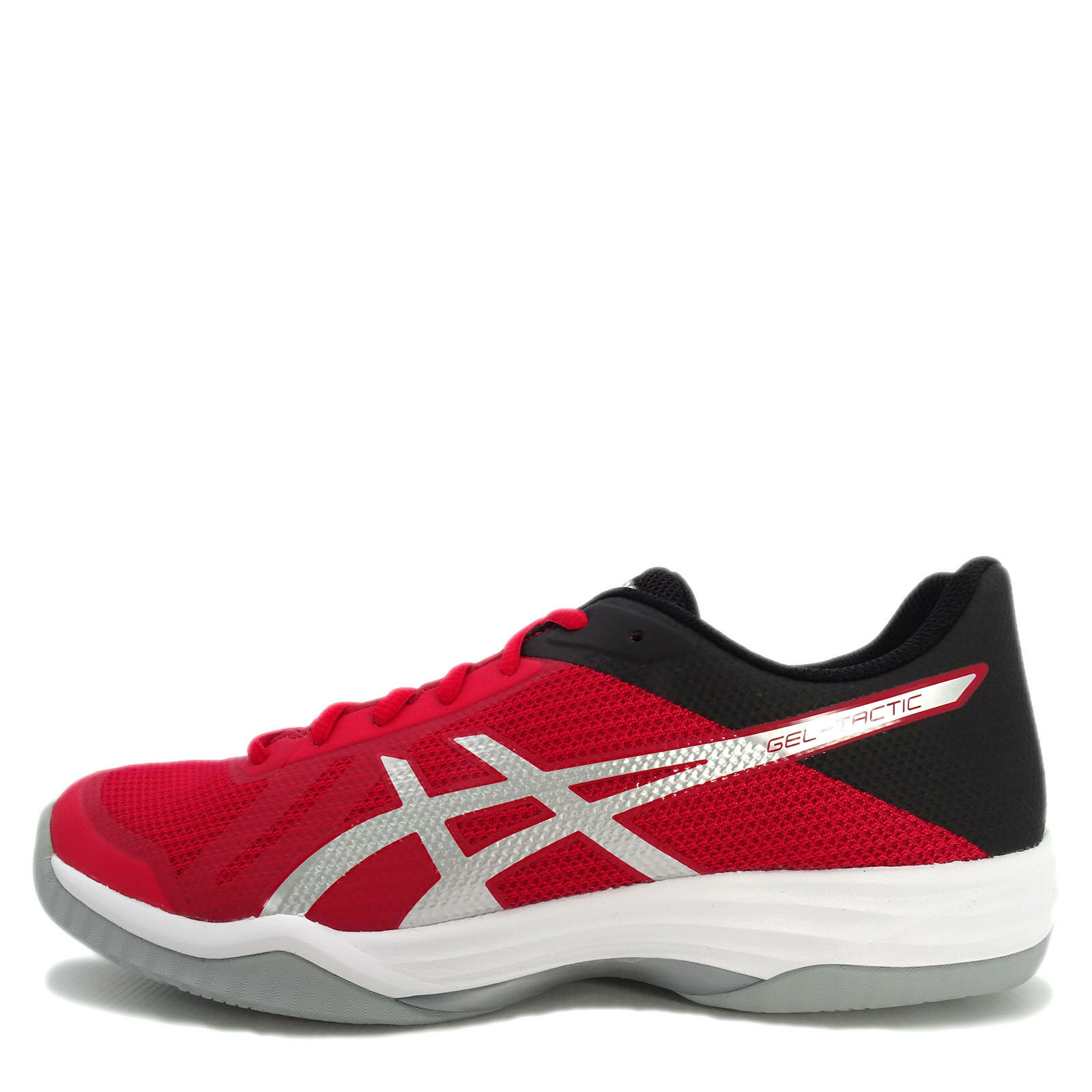 Asics GEL-Tactic [B702N-2393] Men Volleyball Badminton Shoes Red/Silver-Black