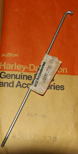 HARLEY AERMACCHI 43037-72P SPOKE RAPIDO MLS TX FRONT