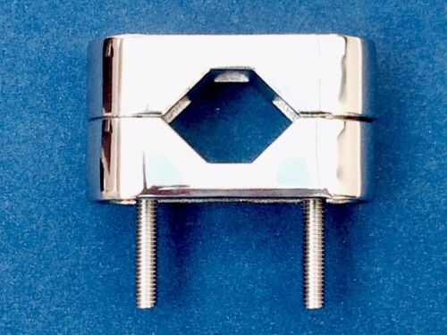 Clamp 316 Stainless Steel Fixing To Pipe//Rail 20//22//25mm,Boat//Sailing//Fishing