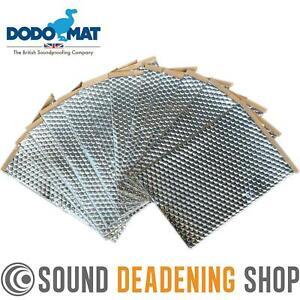 Sound Deadening Dodo Mat DEADN ® Hex 12 Sheets 12sq.ft Car Vibration Proofing
