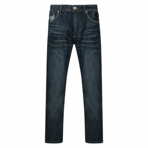 Kam Hommes Extra Tall Stretch Dark Wash Jeans Rory
