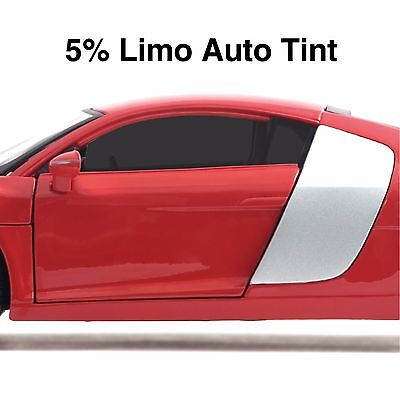 Dedicated Car Window Tint Film - Limo Black Auto Tinting - 76cm X 3 Meters