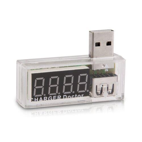 Car USB Voltmeter Voltage Tester Digital Display DC 3-7,5V for Power Bank S4I6
