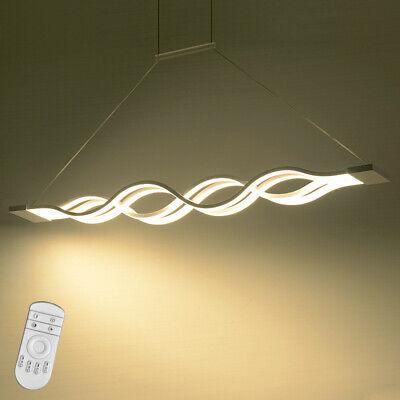 60W LED Hängeleuchte Hängelampe Pendelleuchte Deckenleuchte Dimmbar Esszimmer