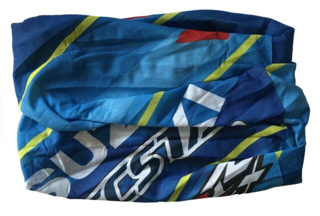 F1 Kart Motorrad MotoGP DTM MX SX Ski Sturmhaube Sturm-Maske Rot Schwarz NEU