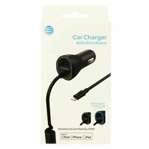 Black Xtreme 59056 Car Charger for iPhone 5 Retail Packaging