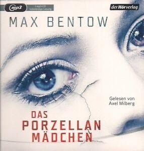 Max-Bentow-Das-Porzellanmaedchen-1-MP3-CD-Thriller-Hoerbuch-CD-Axel-Milberg