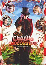 DVD *** CHARLIE ET LA CHOCOLATERIE *** De Tim Burton