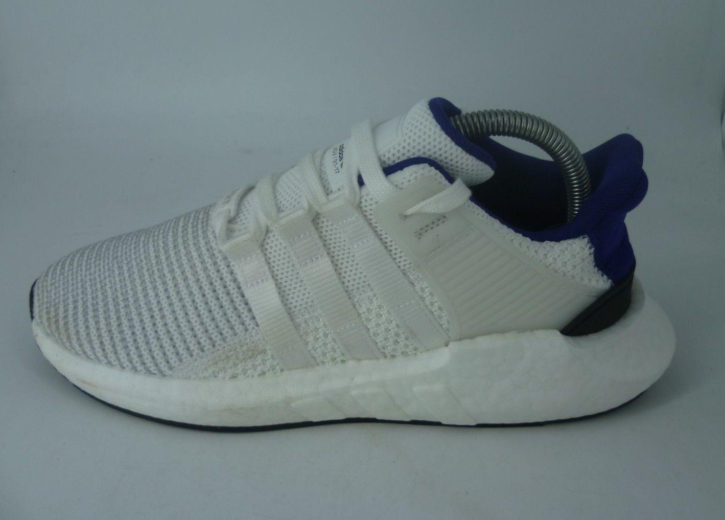Adidas EQT Support 93 17 Blanc Noir Bleu paniers UK 7 EU 40.6 JS181 AA 08