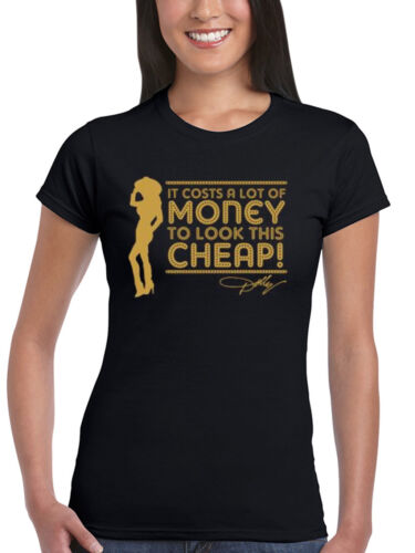 Official Dolly Parton A Lot Of Money Women/'s T-Shirt Country Music Legend Jolene