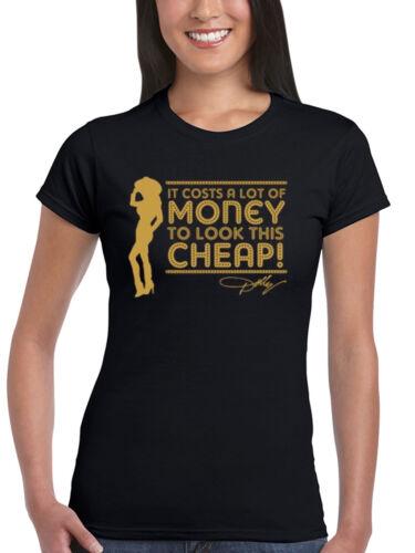 Official Dolly Parton A Lot Of Money Women/'s T-Shirt Country Music Legend Jolene