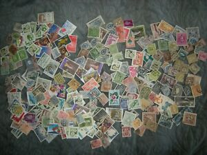 World-stamps-collection-of-280-Used-Faults