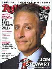 JON STEWART 2011 Rolling Stone magazine DAVID LETTERMAN John Stuart Dave