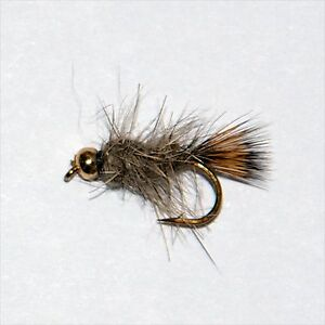 GRHE Nymph Trout /& Grayling wet  Fly fishing flies-Dragonflies