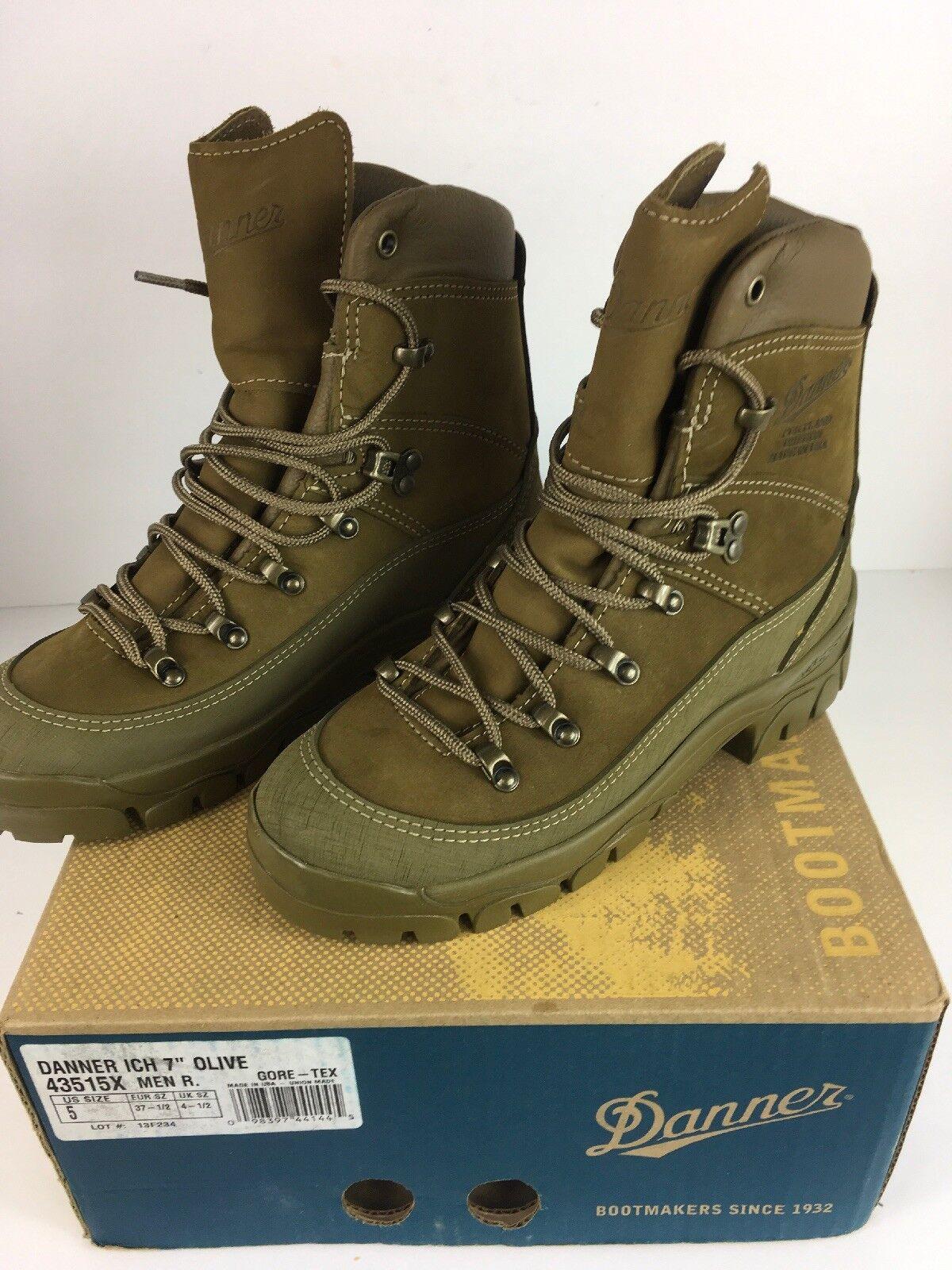 Danner 43515X ich 7  verde Oliva botas Militares De Hombre Portland Oregon Nuevo en Caja