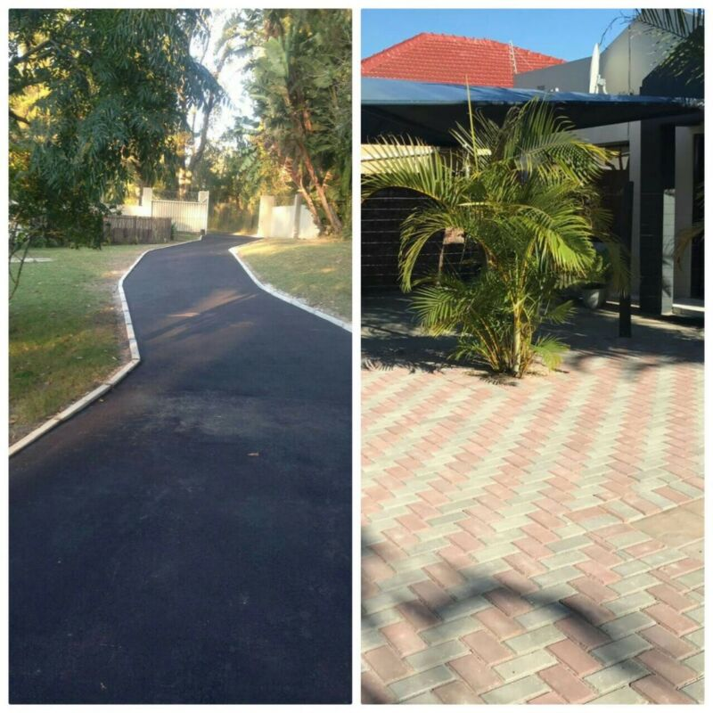 Tarring Asphalt Brick Paving Concrete Driveways Parking Lots
