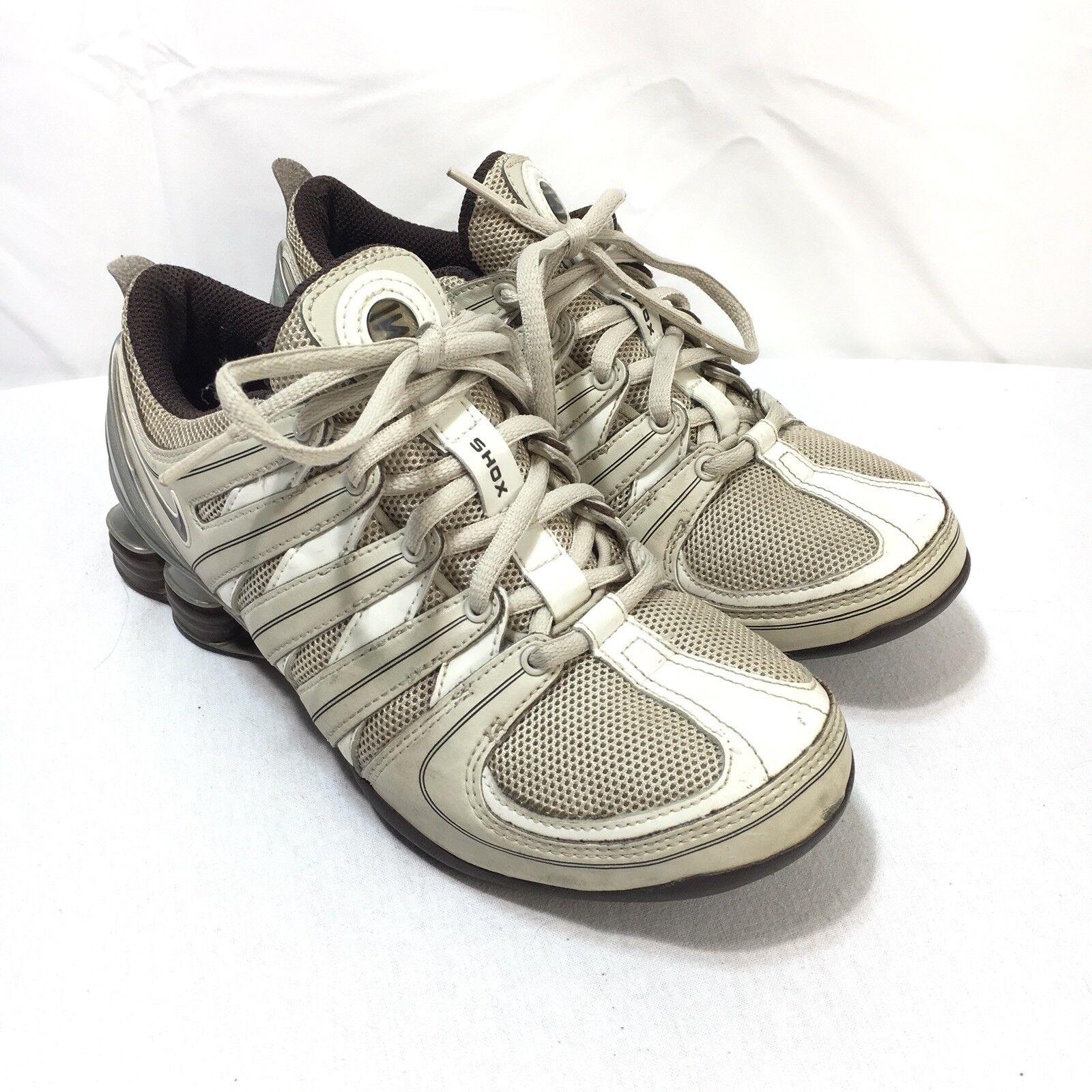 Nike shox donne merletto bianco grigio - Marroneee 6 scarpe da corsa | Buon Mercato  | Gentiluomo/Signora Scarpa