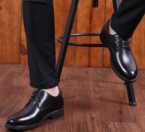 Men/'s Business Flats Leather Shoes Lace Up Dress//Formal Oxford Shoes Plus Size