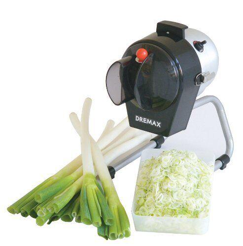 DREMAX DoriMax Electric Vegetables Slicer mini DX-50 shrougeder cutter AC100V EMS