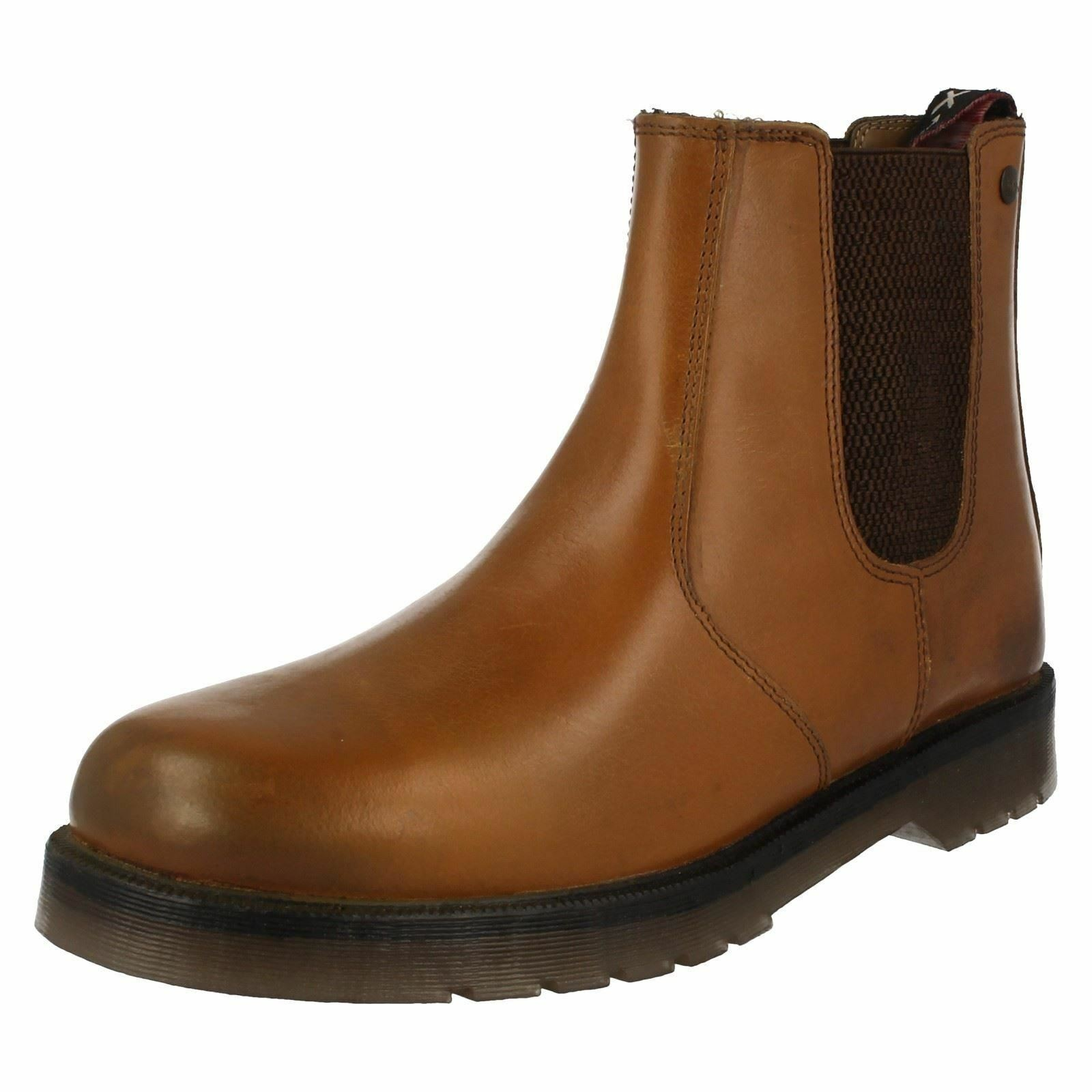 Catesby 01700 Men's Tan Leather Uppers, Chelsea Boots