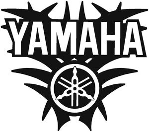 Yamaha Motorcycle Tank Decals