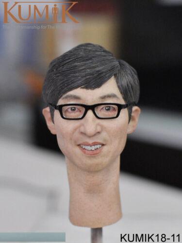 KUMIK 1//6 Male Head Sculpt W Neck KUMIK18-1//4//5//6//7//8//9//10//11 F 12/'/' Figure