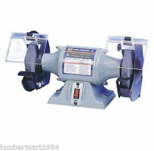 King-Canada-Tools-KC-690-6-034-BENCH-GRINDER-Touret-d-039-Etabli-6-034-3-5-amp-3500-RPM