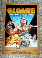 SLOANE - Die Gewalt im Nacken * EASTMAN - A1-FILMPOSTER -Ger 1-Sheet ´85 PELTZER
