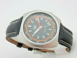 Longines-Ultra-Chron-Steel-Ref-8221-Automatico-Man-43mm-70s-Serviced