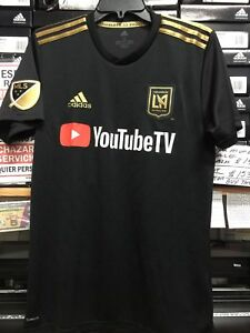 640919f2882 Adidas LAFC home Jersey Black And Gold Stadium Kit Size XXL Only