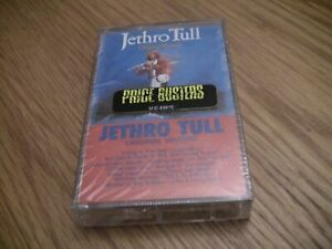 """Jethro Tull """"Original Masters"""" Cassette Tape New"""