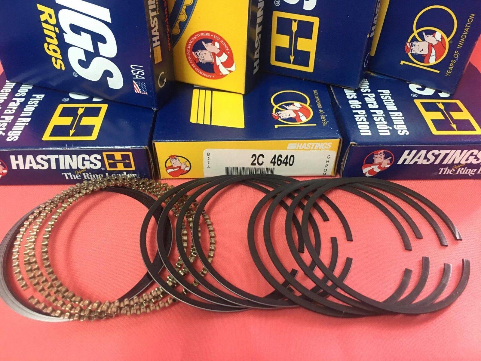 Hastings 4414S020 Single Cylinder Piston Ring Set