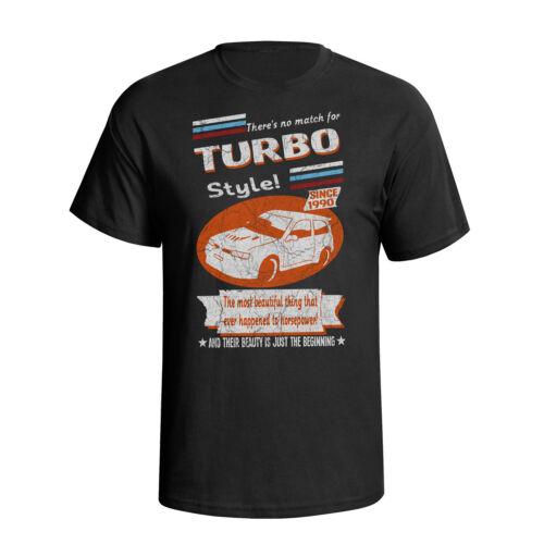 Nissan Pulsar GTI R 1990 Retro Style Mens Car T-Shirt