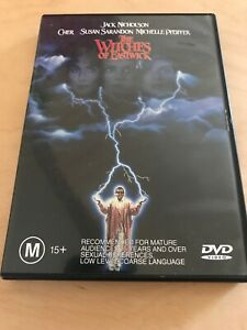 Witches-Of-Easwick-Cher-Jack-Nicholson-Michelle-Pfeiffer-Like-New-DVD-SALE