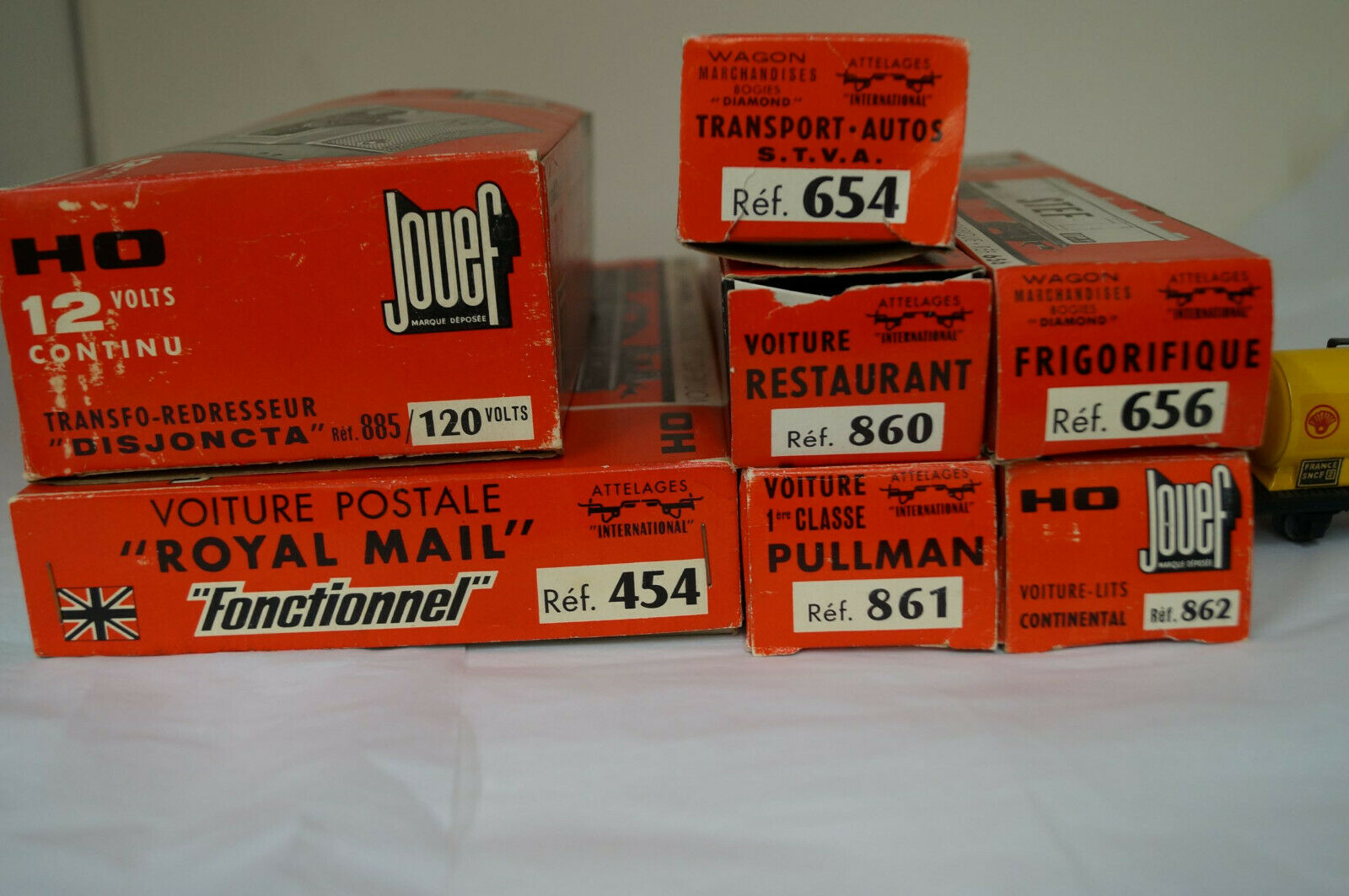 Jouef Ho Scale Assorted Rolling Stock
