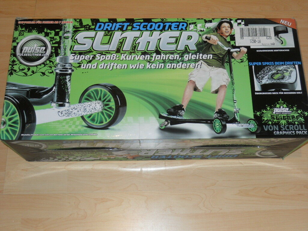 PULSE Drift Scooter Slither NEU SUPER SPASS