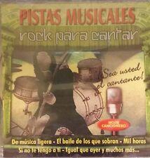Pistas Musicales Rock Para Cantar Various Artists (CD, 2002)