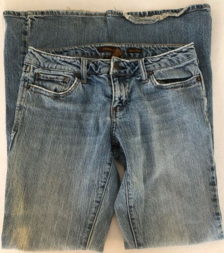 Regular Stretch 5 Womens Blue Light Flare Aeropostale Wash Taille 6 Jeans p4wnR