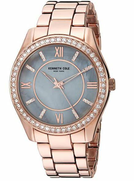 NWT Kenneth Cole superb watch w/ Rhinestones Model: KC50739001