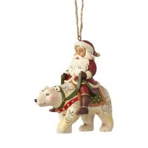 Jim-Shore-034-SANTA-RIDING-POLAR-BEAR-034-Ornament