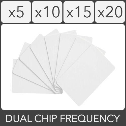RFID Card Dual Frequency 13.56MHz UID 125KHz T5577 EM4305 Rewritable 0 Block