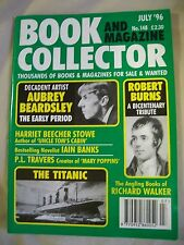Book and Magazine Collector Magazine. Issue no. 148. July 1996. The Titanic