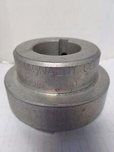 magnaloy coupling M400 1-3/4 inch bore, 3/8 inch keyway model 400 hub