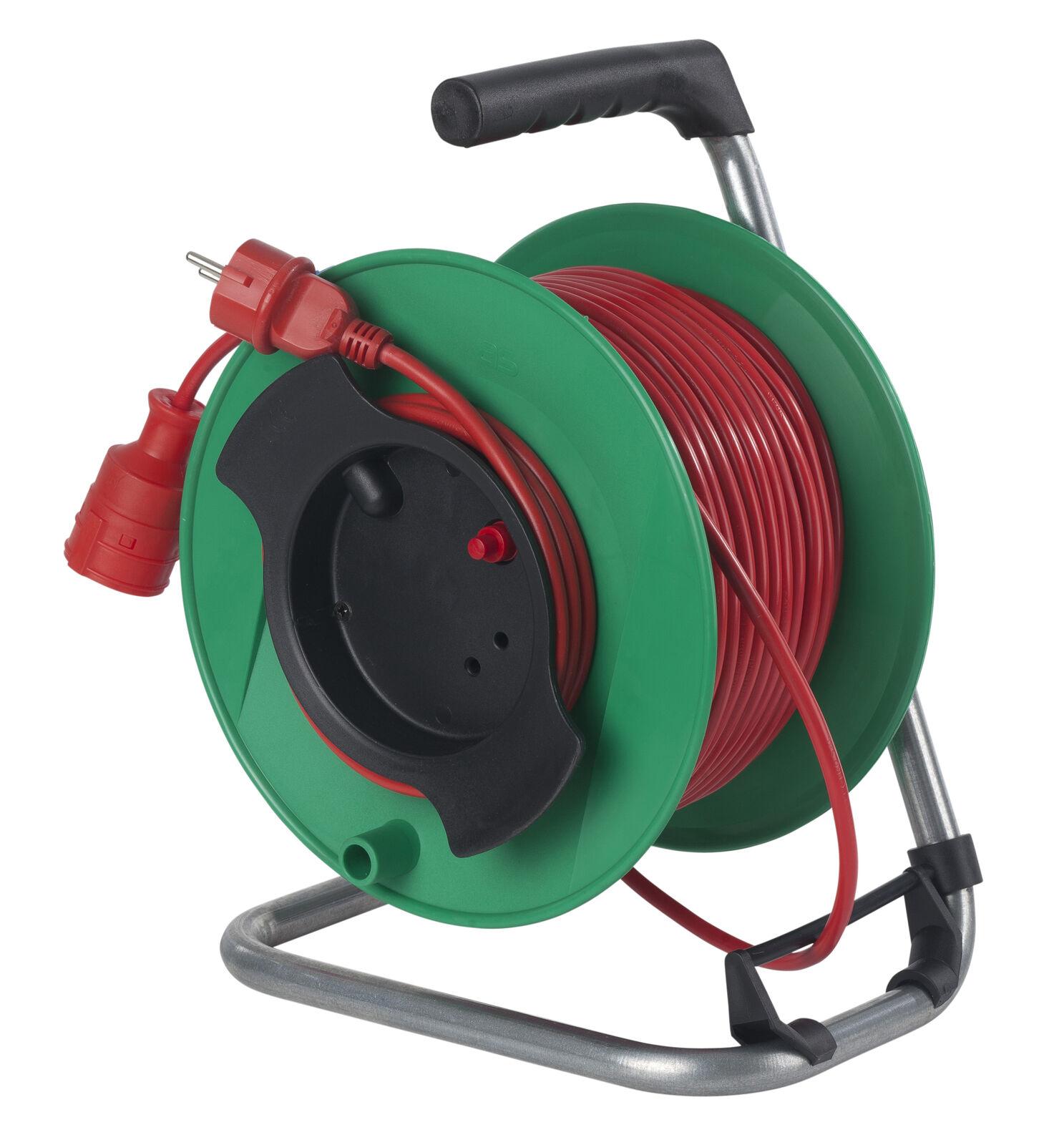 As - Schwabe 12323 Sicherheits-Gerätetrommel 230mmØ grün, 25m H05VV-F 3G1,5   Sale Deutschland