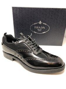 bd823ee0b639  750 New PRADA Mens Black Shoes Sneakers Size 7.5 US 6.5 UK 40.5 EU ...